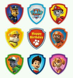 Paw patrol badges clipart image transparent library Click visit site and Check out Best