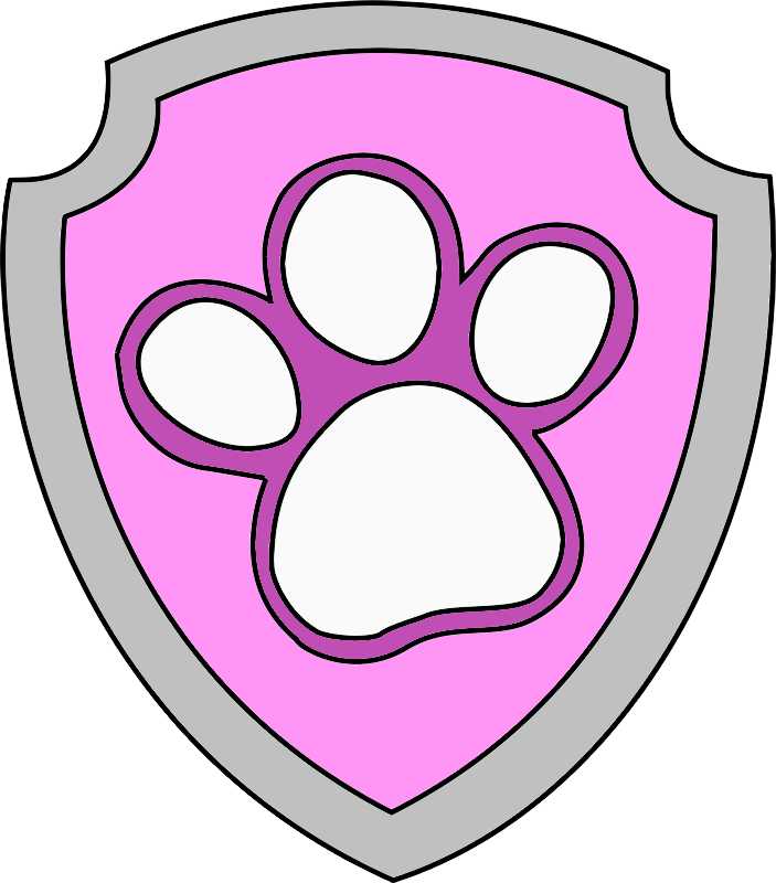 Pink paw patrol logo clipart clipart library download Image - Paw Patrol badge.png | PAW Patrol Fanon Wiki | FANDOM ... clipart library download