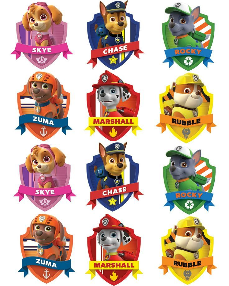 Paw patrol badges clipart graphic black and white stock 17 Best ideas about Paw Patrol Badge on Pinterest | Paw patrol ... graphic black and white stock