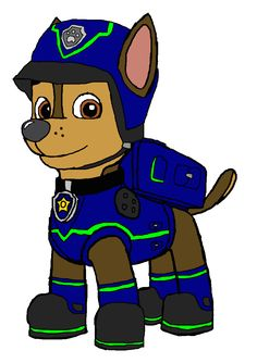 Paw patrol chase clipart png download Paw Patrol Action Pack Pup & Badge - Chase | Toys r us, Toys and ... png download