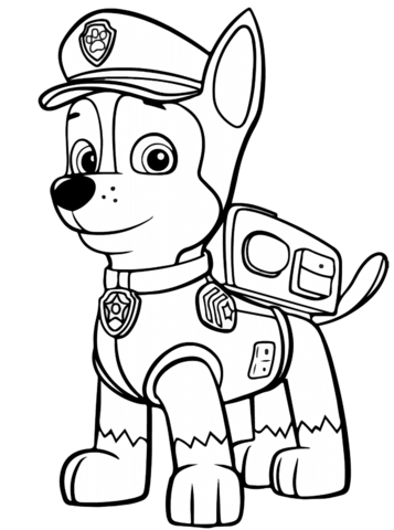 Paw patrol chase clipart vector library download Paw patrol chase clipart - ClipartFest vector library download