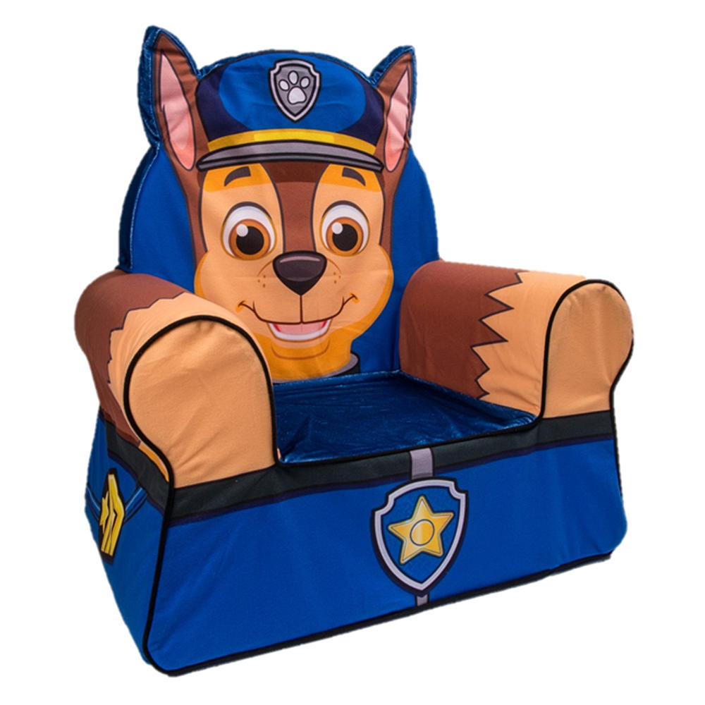 Paw patrol chase clipart clipart black and white library Nickelodeon Paw Patrol Comfy Character Chair - Chase - Toys