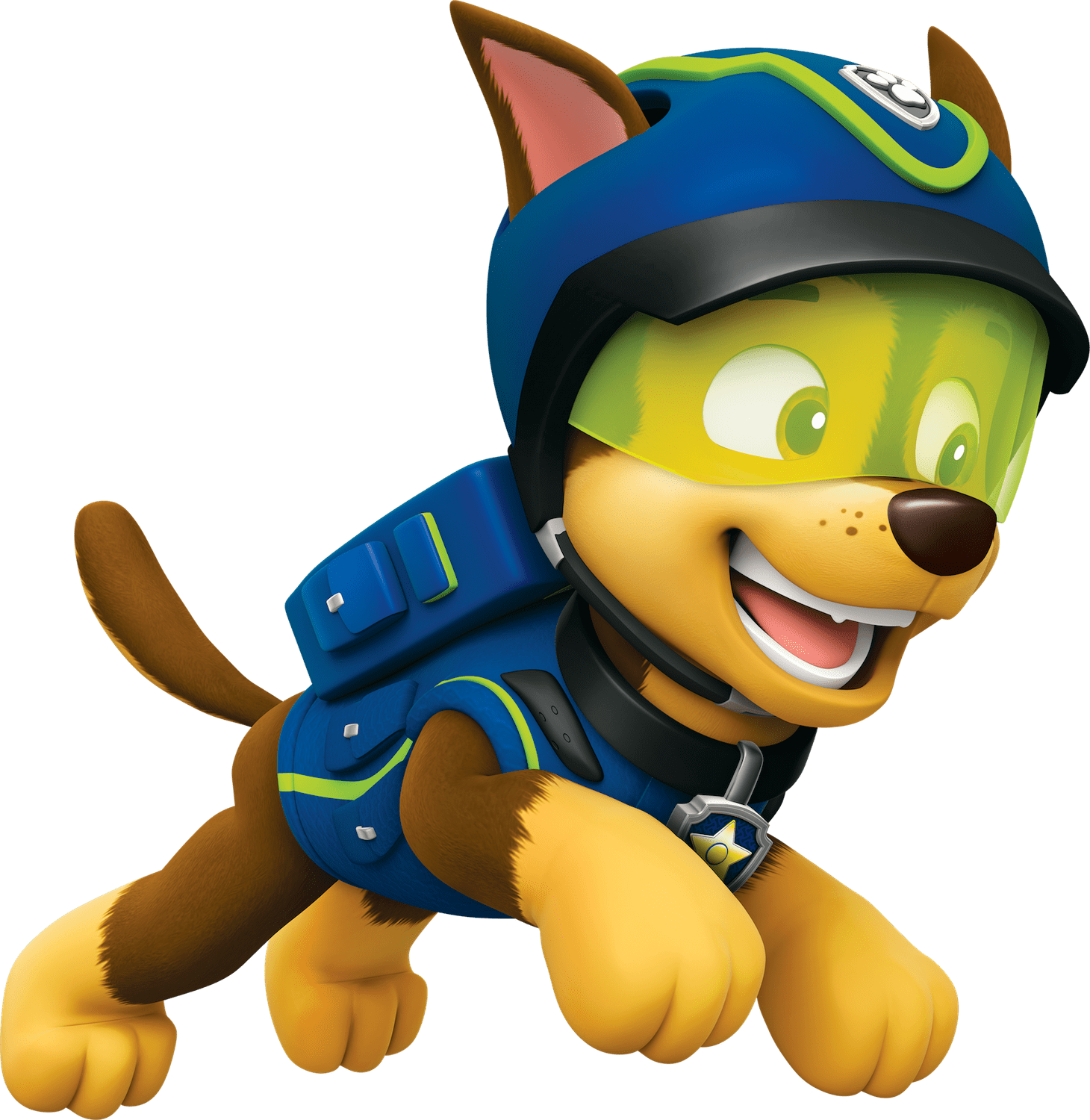 Paw patrol clipart chase clipart free library Chase Jump Paw Patrol Clipart Png clipart free library