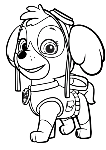 Paw patrol clip art black and white banner freeuse Paw patrol clipart black and white - ClipartFox banner freeuse