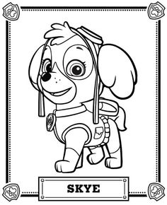 Paw patrol clip art black and white clipart black and white library Paw patrol clipart black and white - ClipartFest clipart black and white library