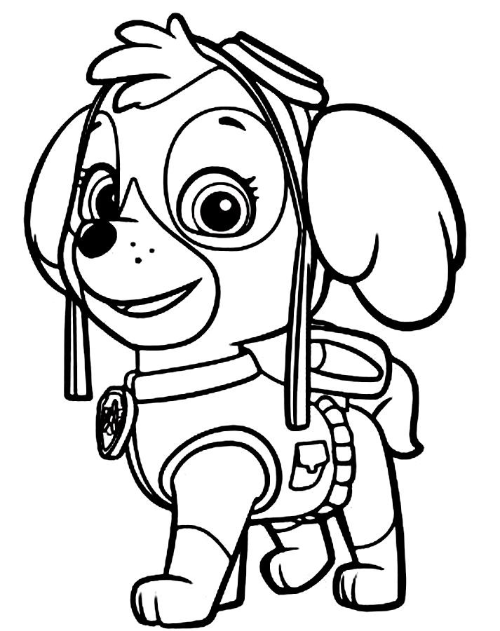 Paw patrol clip art black and white png freeuse Paw patrol clipart black and white - ClipartFest png freeuse
