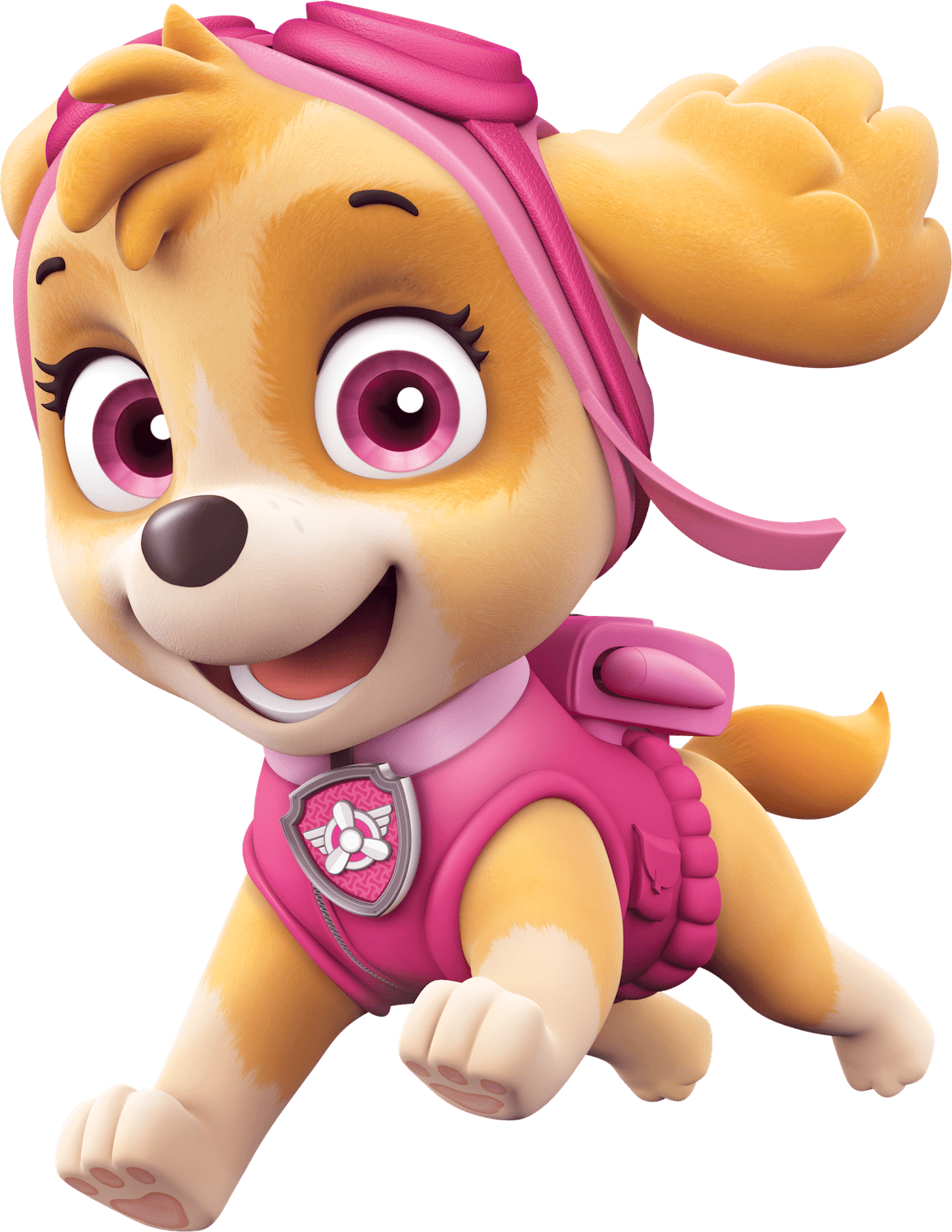 Pink paw patrol logo clipart picture black and white download Happy Paw Patrol Photos - 14105 - TransparentPNG picture black and white download