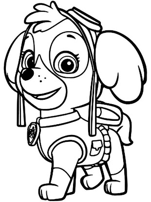 Paw patrol clipart black and white svg royalty free stock Paw patrol clipart black and white 1 » Clipart Station svg royalty free stock