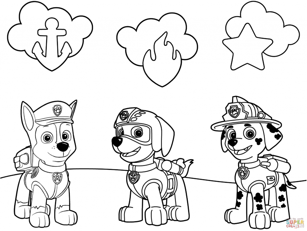 Paw patrol clipart black and white clip art download coloring ~ Paw Patrol Clip Art Black And White Games Nick Jr ... clip art download