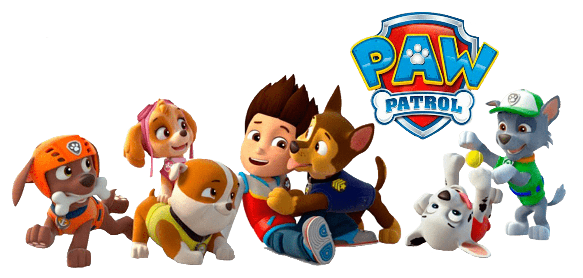 Paw patrol clipart chase jpg library stock Ryder With Chase Paw Patrol Clipart Png jpg library stock