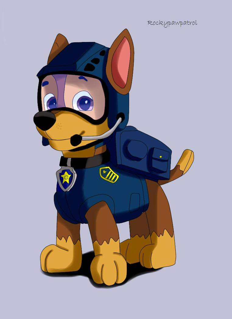 Paw patrol clipart chase vector freeuse library Paw Patrol F B I Chase by DannyEdCoyote on DeviantArt vector freeuse library