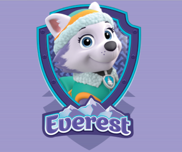 Paw patrol clipart everest png black and white download 17 Best images about Paw Patrol Everest Costume   Paw patrol and ... png black and white download