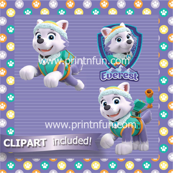 Paw patrol clipart everest vector freeuse library Paw patrol clipart everest - ClipartFest vector freeuse library