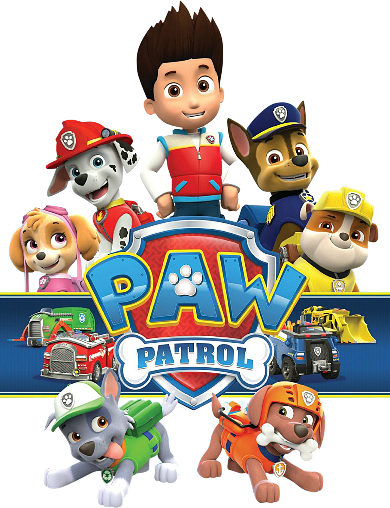 Paw patrol clipart to print clip art royalty free Paw Patrol Birthday Clipart at GetDrawings.com | Free for personal ... clip art royalty free