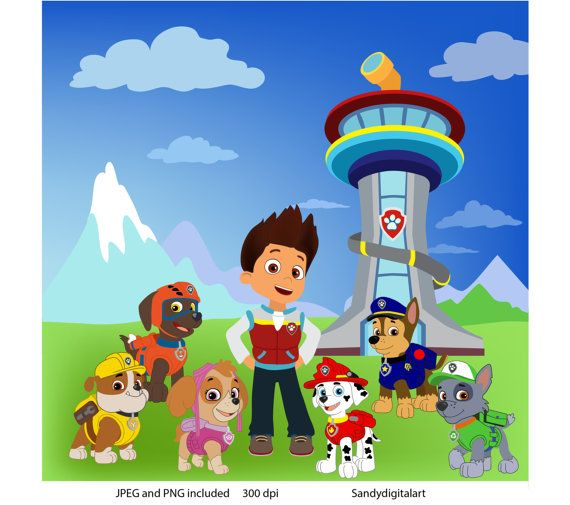 Paw patrol clipart images png freeuse 17 Best images about PAW PATROL on Pinterest | Spring sale ... png freeuse