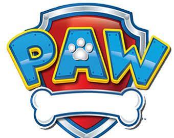 Paw patrol clipart logo