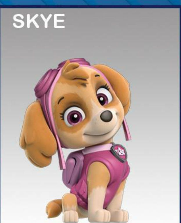Paw patrol clipart skye jpg library 17 Best images about Paw Patrol pics on Pinterest | Rubble paw ... jpg library