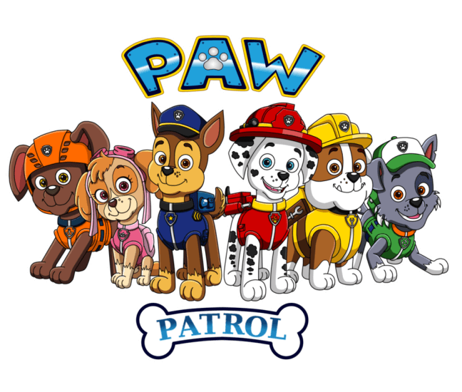 Paw patrol clipart to print clipart freeuse stock Paw Patrol coloring pages | Print and Color.com clipart freeuse stock
