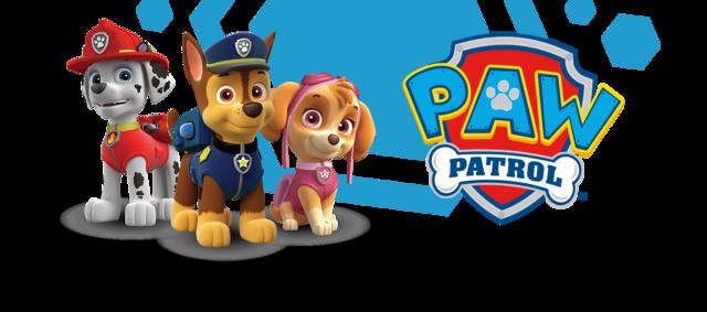 Paw patrol clipart transparent banner library stock Image - Header-paw-patrol-desktop-portrait.png | PAW Patrol Wiki ... banner library stock