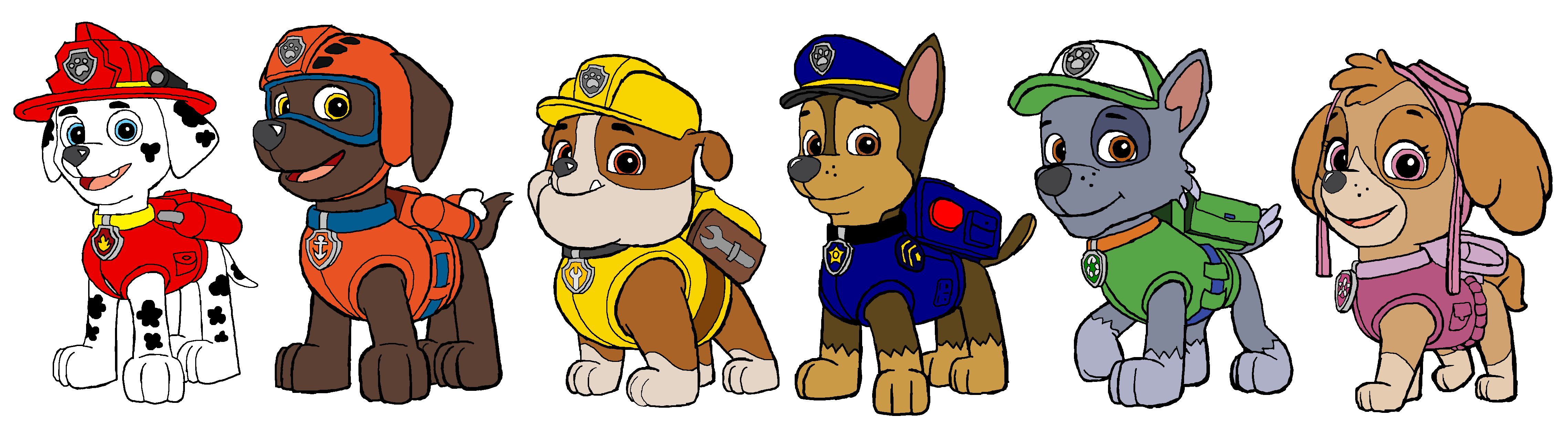 Paw patrol clipart without a background clipart stock paw patrol images paw patrol pups hd wallpaper and background ... clipart stock