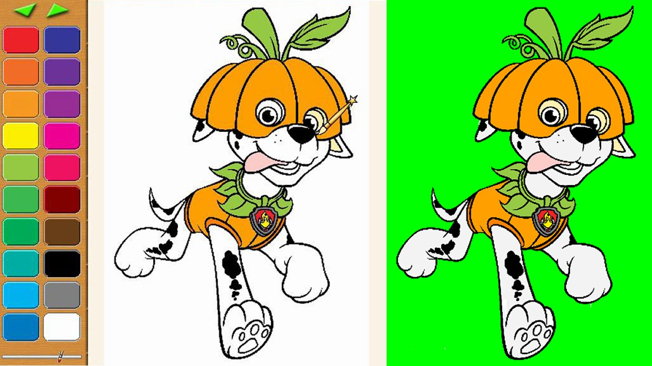 Paw patrol halloween clipart picture freeuse download Paw Patrol Coloring Pages for Kids Coloring Games ► Paw Patrol ... picture freeuse download