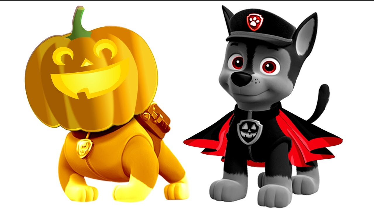 Paw patrol halloween clipart picture freeuse stock Paw Patrol Halloween Pumpkin Coloring Pages for Kids    Paw Patrol ... picture freeuse stock