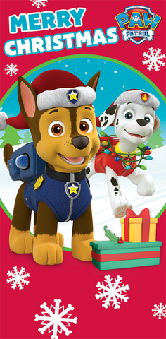 Paw patrol merry christmas clipart image freeuse library Paw Patrol Merry Christmas Money Wallet Card – Budget gifts uk image freeuse library