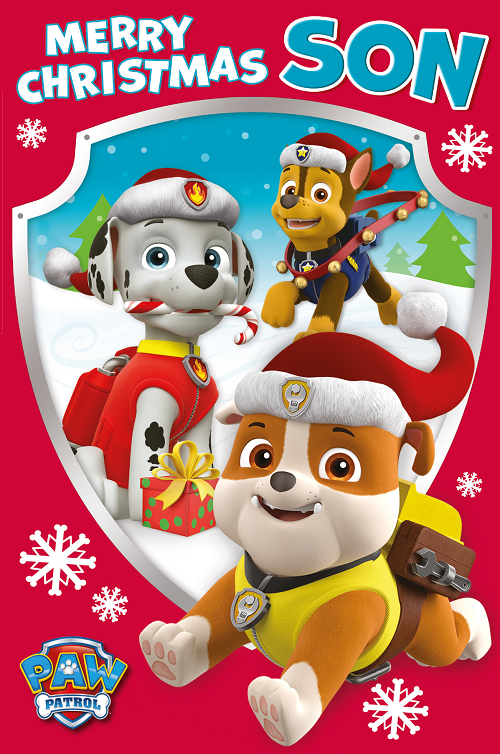 Paw patrol merry christmas clipart graphic royalty free stock Cards – Tagged