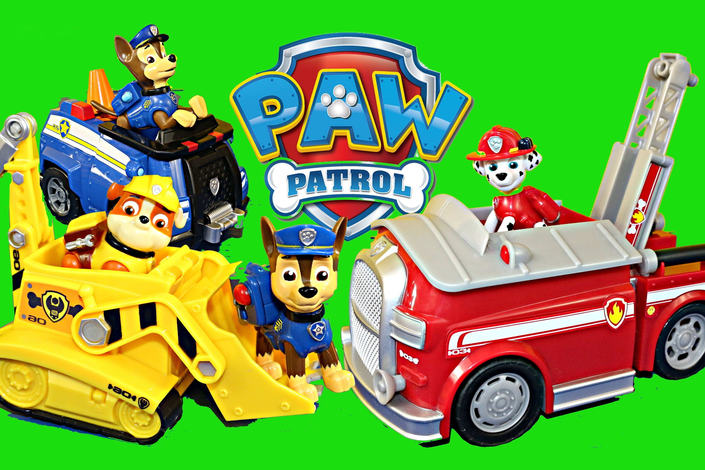 Paw patrol police dog clipart stock NEW Paw Patrol Dog Toys Nickelodeon Nick Jr Chase Rubble Bulldozer ... stock