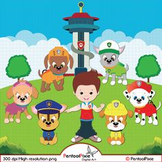 Paw patrol police dog clipart clipart library download Clipart paw patrol disney princes - ClipartFox clipart library download
