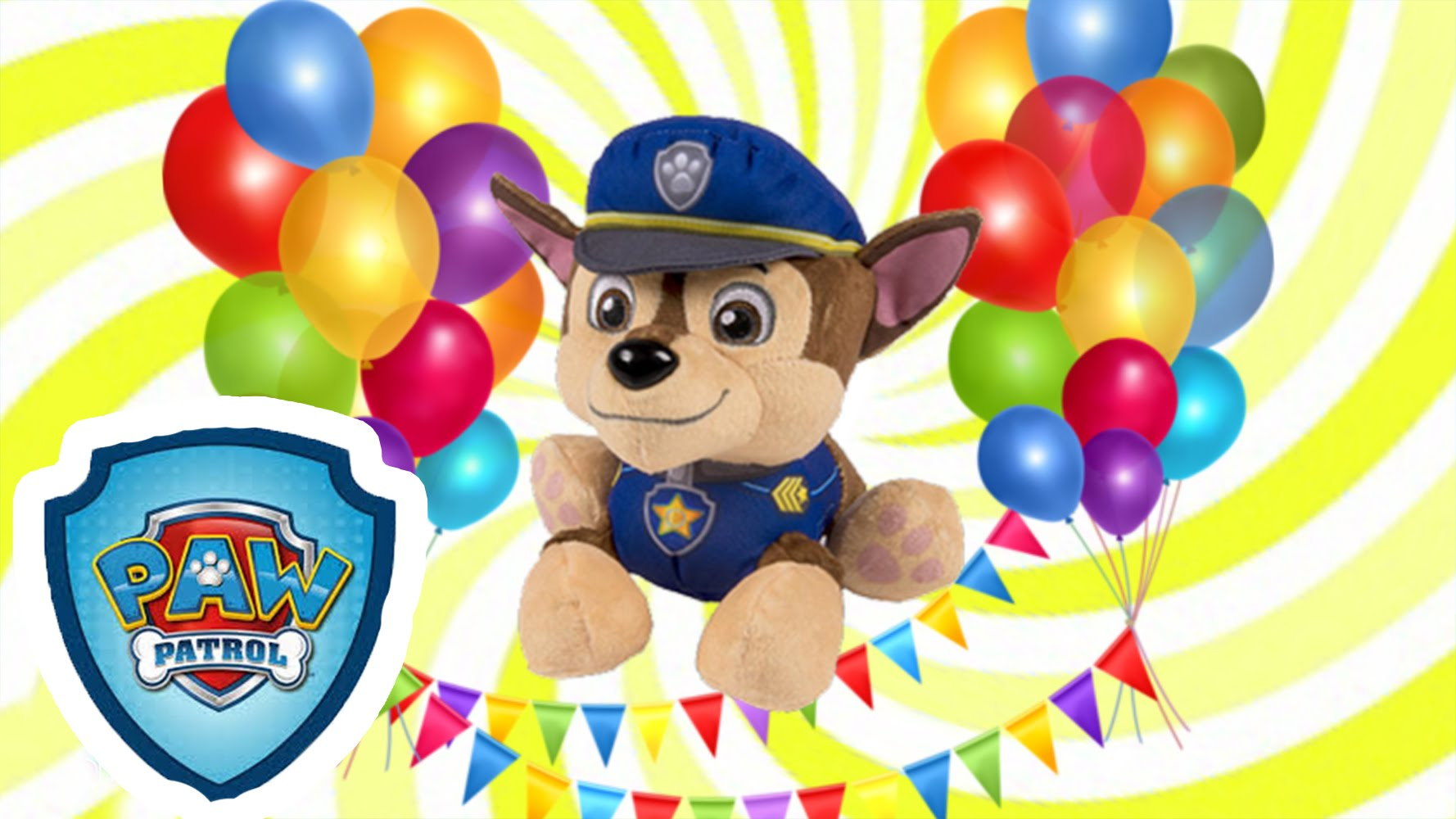 Paw patrol police dog clipart jpg free stock Happy Birthday Paw Patrol and Friends Song - DANCING AND SINGING ... jpg free stock
