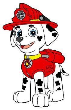 Paw patrol police dog clipart png free download Characters | Paw patrol, Search and Costumes png free download