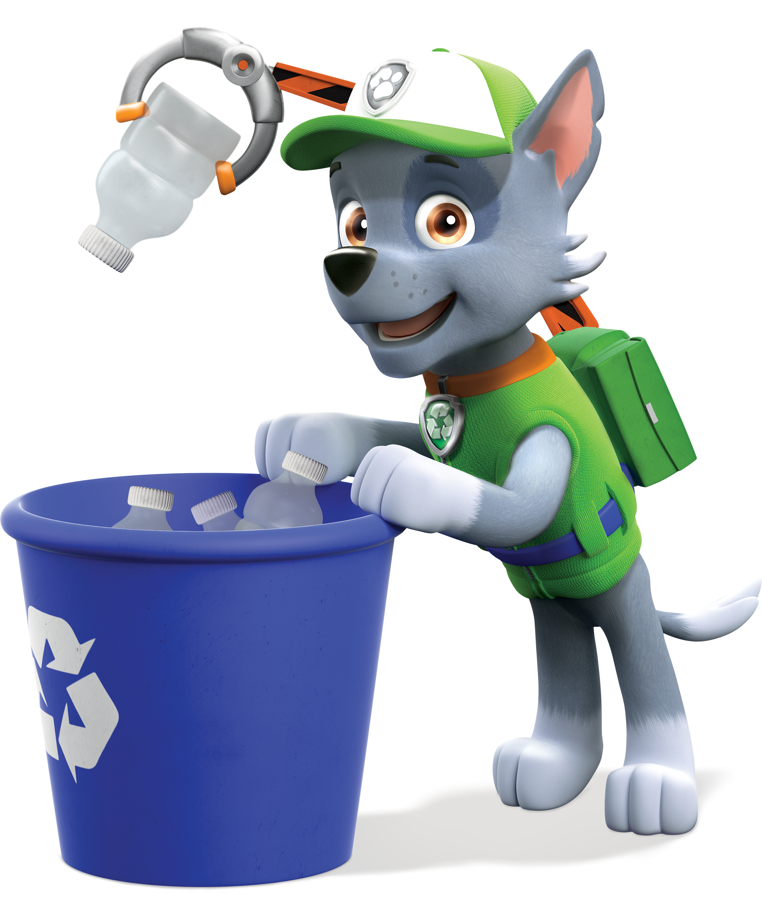 Paw patrol rubble clipart graphic freeuse stock Image - PAW Patrol Rocky Recycling Bin.png | PAW Patrol Wiki ... graphic freeuse stock