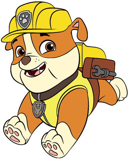 Paw patrol rubble clipart svg free library Paw Patrol Clip Art Images | Cartoon Clip Art svg free library