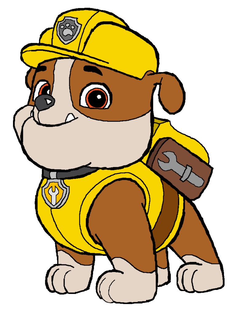 Paw patrol rubble clipart royalty free stock 17 Best images about PAW PATROL on Pinterest | Fiestas, Paw patrol ... royalty free stock