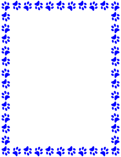Paw print clipart free border vector free stock Free Animal Borders: Clip Art, Page Borders, and Vector Graphics vector free stock