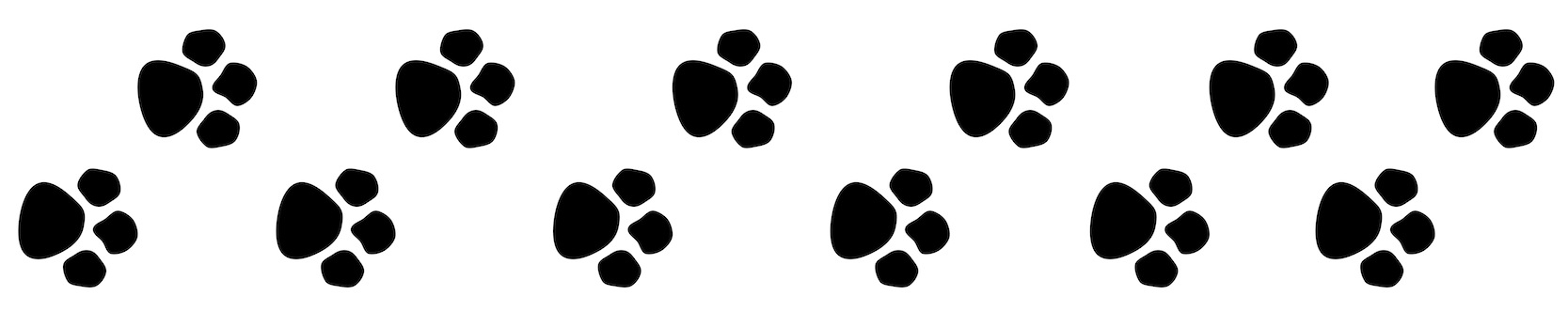 Paw print clipart free border picture library stock Dog Paw Print Clip Art – Gclipart.com picture library stock