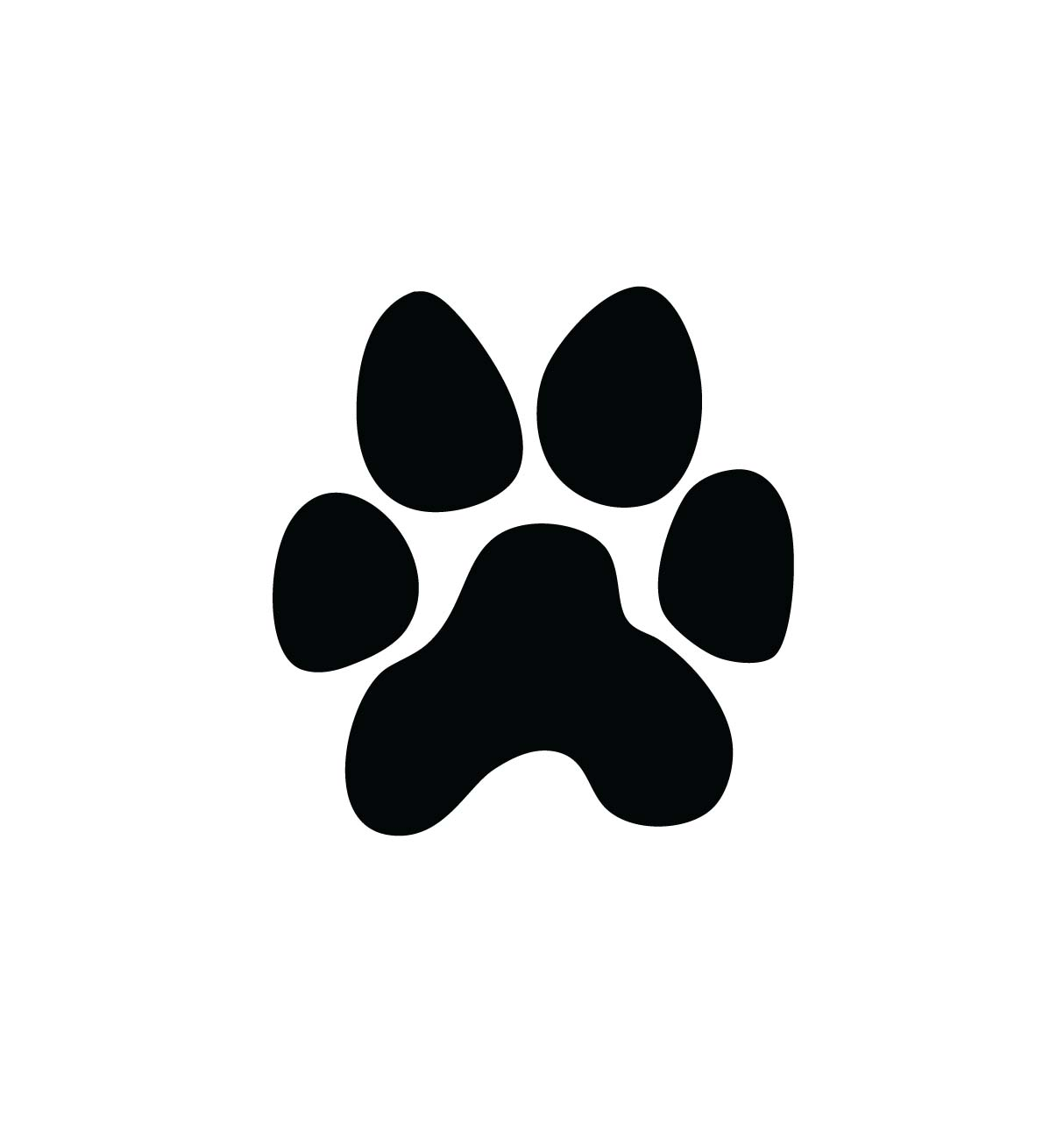 Paw print clipart jpeg royalty free download Panther Paw Print Clip Art & Panther Paw Print Clip Art Clip Art ... royalty free download