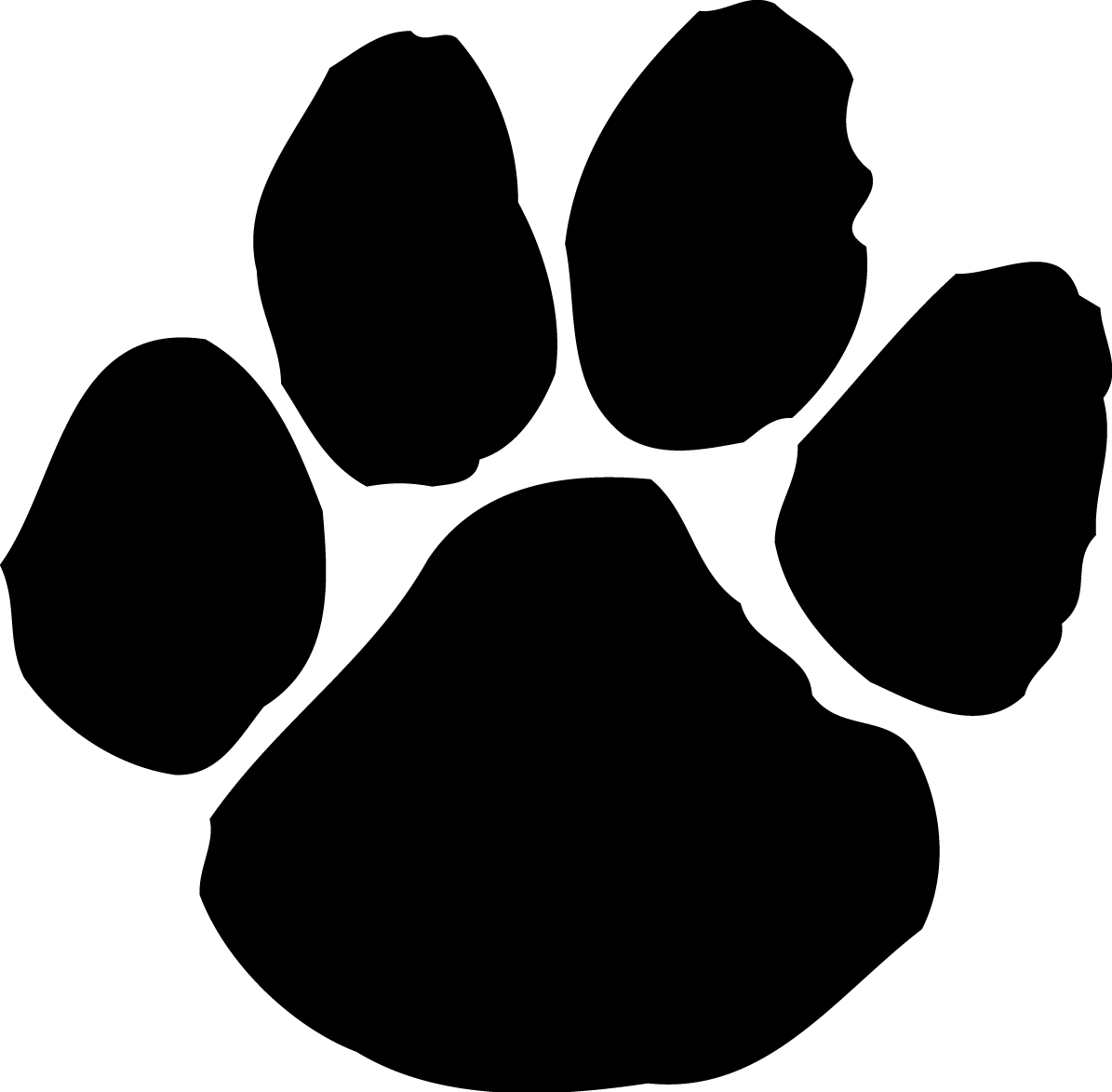 Paw print clipart jpeg image royalty free stock Paw Print Clipart & Paw Print Clip Art Images - ClipartALL.com image royalty free stock