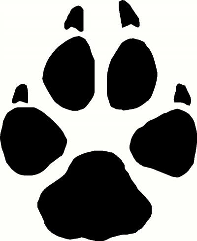 Paw print clipart jpeg clip art freeuse stock Wolf Paw Print Clipart - Clipart Kid clip art freeuse stock