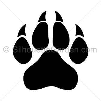 Paw print clipart jpeg clip art library library Panther Paw Print Clip Art & Panther Paw Print Clip Art Clip Art ... clip art library library
