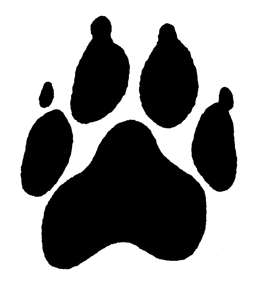 Paw print clipart jpeg banner download Puppy Paw Print Clipart - Clipart Kid banner download