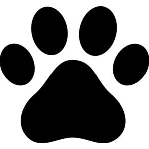 Pawprint clipart clip black and white 27+ Pawprint Clip Art | ClipartLook clip black and white