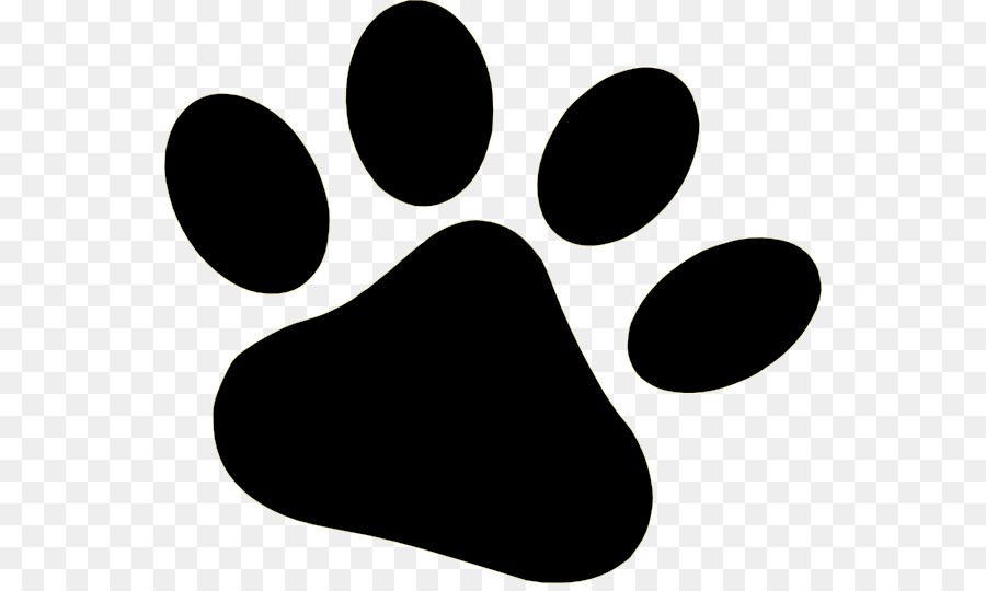 Paws clipart svg black and white Dog Paw png download - 600*533 - Free Transparent Dog png ... svg black and white