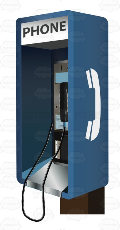 Pay phone clipart picture black and white library Payphone clipart 3 » Clipart Portal picture black and white library