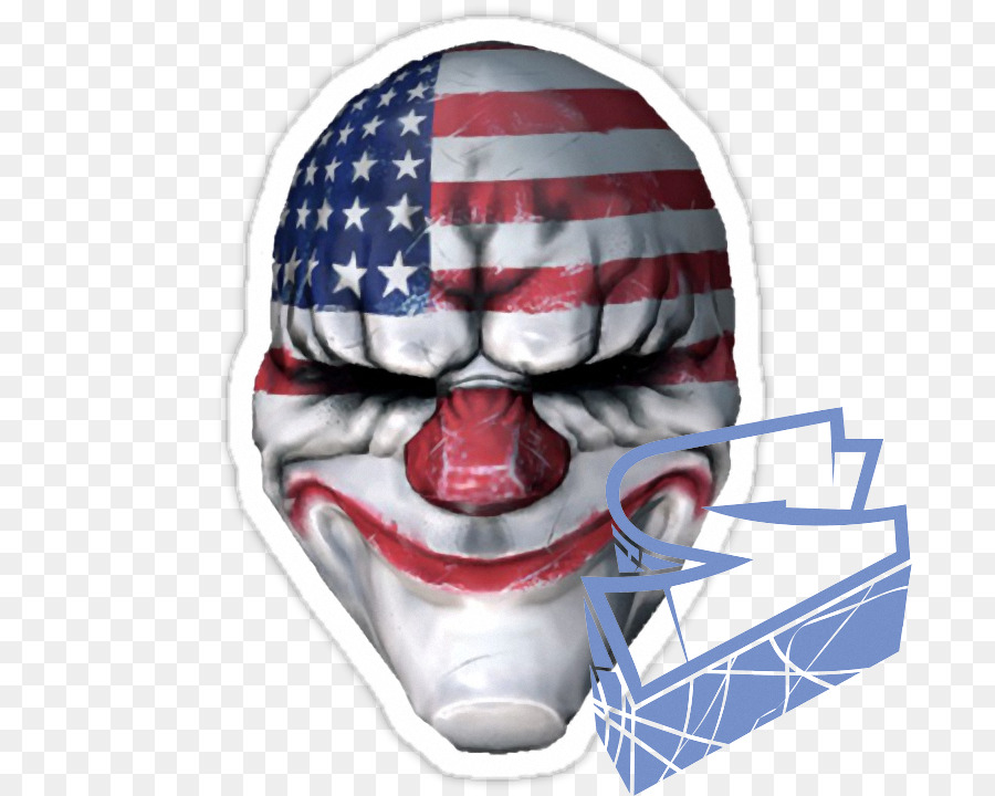 Payday 2 wolf clipart picture black and white stock Wolf Cartoon clipart - Mask, Clown, Product, transparent ... picture black and white stock