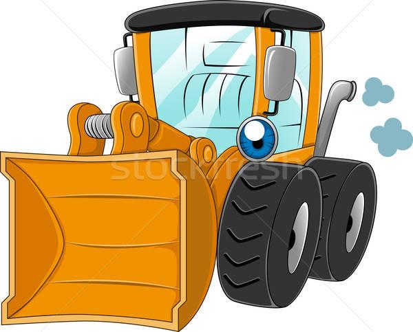 Payloader clipart image free Wheel Loader vector illustration © lenm (#1238797)   Stockfresh image free