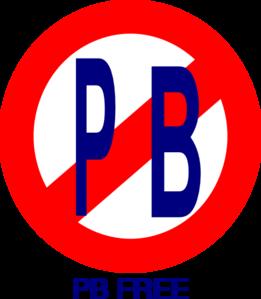 Pb logo clipart clip royalty free No Pb Clip Art at Clker.com - vector clip art online ... clip royalty free