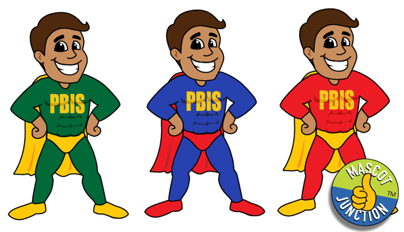 Pbis clipart jpg freeuse stock PBIS Super Hero Clip Art - Mascot Junction jpg freeuse stock