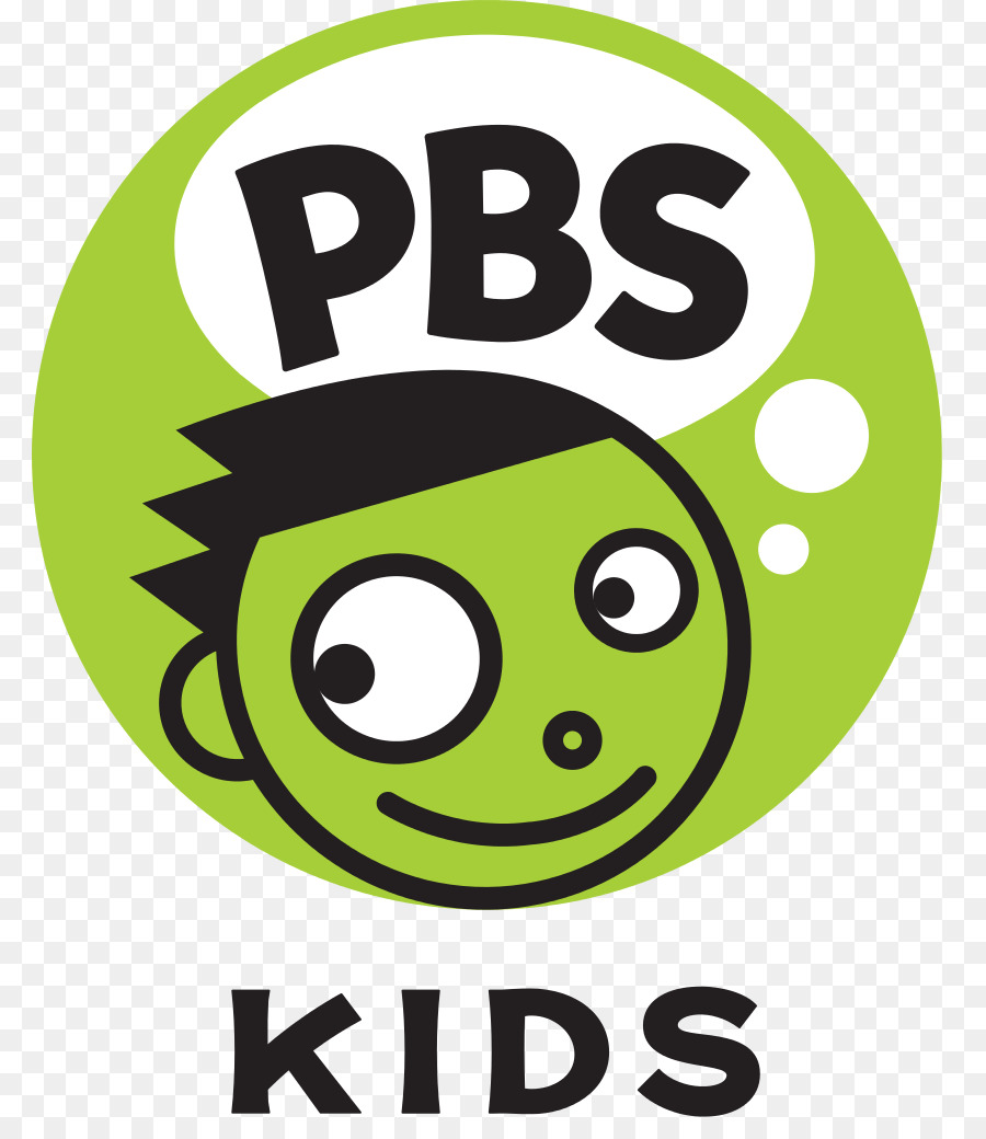 Pbs logo clipart clip black and white stock Kids Icon clipart - Television, Green, Yellow, transparent ... clip black and white stock